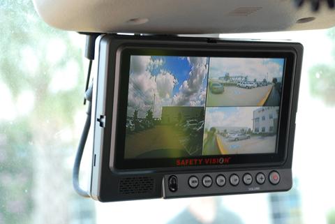 Collision Avoidance Camera System Monitor