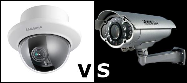 Bullet Cameras vs. Dome Cameras