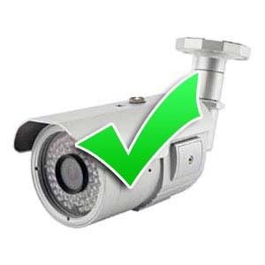 Test CCTV Cameras