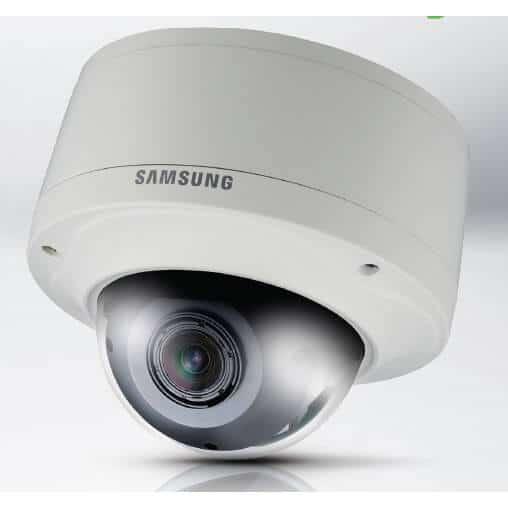Samsung SNV-5080 1.3 Megapixel HD Vandal Resistant Network Dome Camera - 2MCCTV