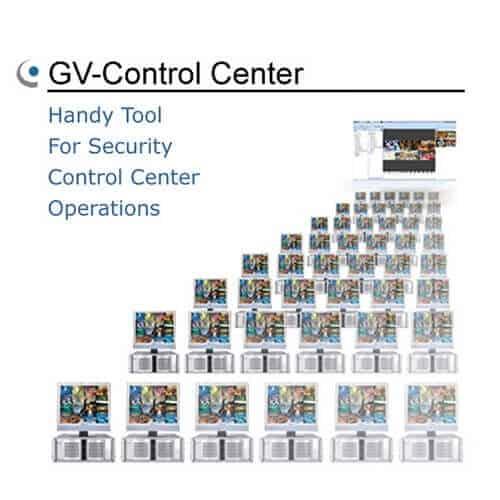 GeoVision GV-Control Center CMS Software - 3