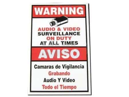LA05 Warning Signs