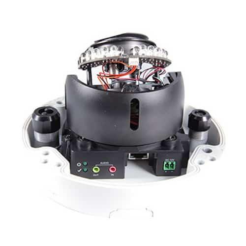 GeoVision GV-VD2712 2MP 4.3x Zoom WDR Pro IR Vandal Proof IP Dome Camera