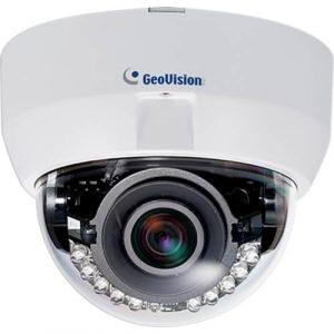 Geovision GV-EFD5101 5 MP H.264 Low Lux WDR IR Fixed IP Dome P-Iris 3 ~ 9 mm Camera