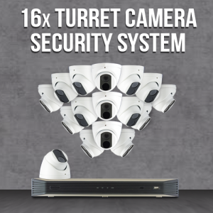 16 Camera IP Surveillance System