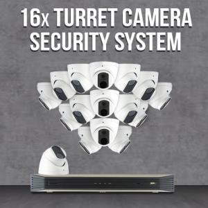16 Camera IP Surveillance System