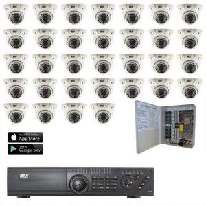 2MKT-2M32ZD TVI Security Camera System 32 Motorized domes