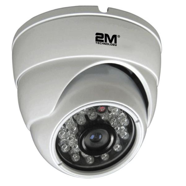 2 Megapixel TVI Fixed Dome Camera