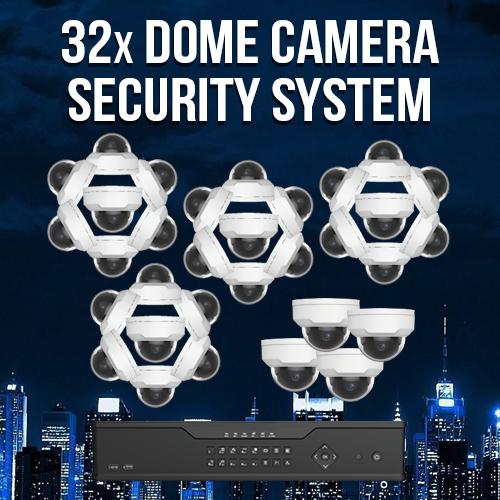 32 Camera Surveillance System