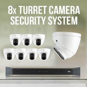 8 Turret Camera Surveillance System