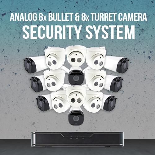 Analog 16 Camera Surveillance System