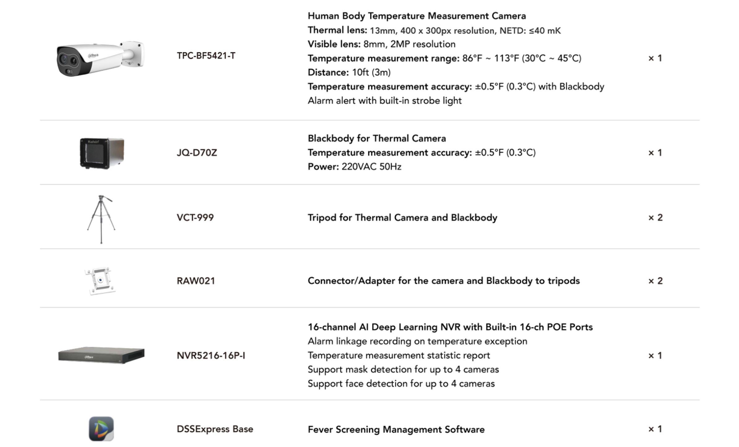 Ultra Package Fever Temperature Measurement Screener